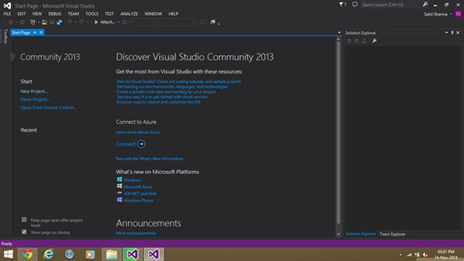 fully functional Visual Studio