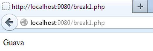 Continue And Break Statement In Php