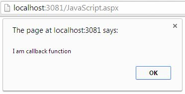 how to call an anonamous function javascript