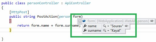 Web API With AJAX: Submit Form Data After Serialization