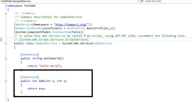Calling WebService Using AJAX jQuery With SOAP Message Created ...
