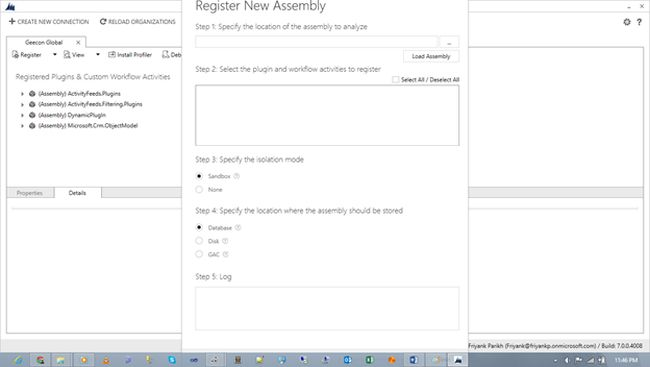 Register New Assembly
