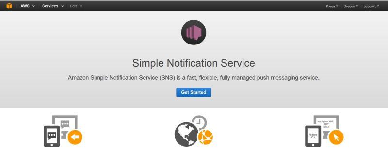 Simple notification service