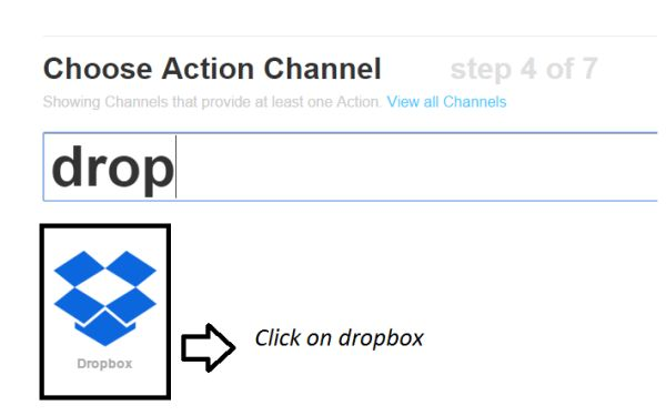 choose action channel
