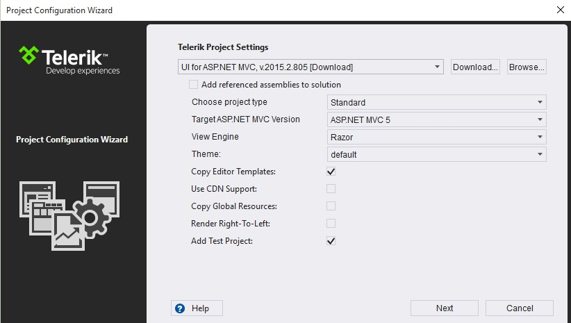 getting started with asp net mvc wrapper for kendoui