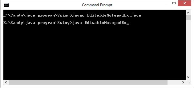 how to read and write a notepad file in c