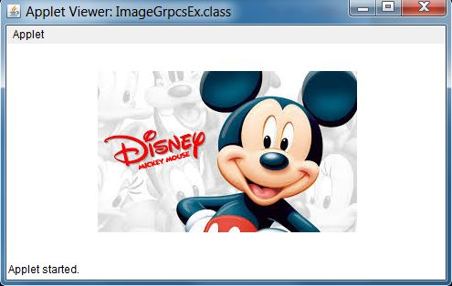 How To Display Image And Show Animation Using Applet In Java