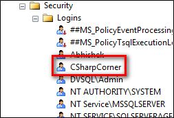 Login and User in SQL Server