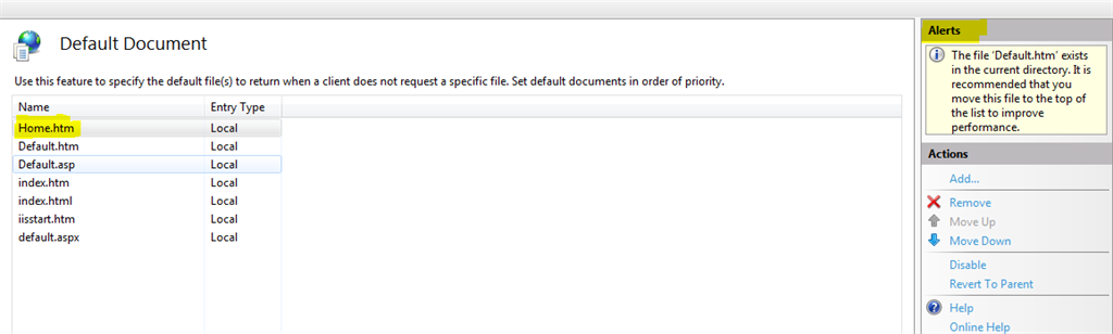 Default-Document_IIS-Aler