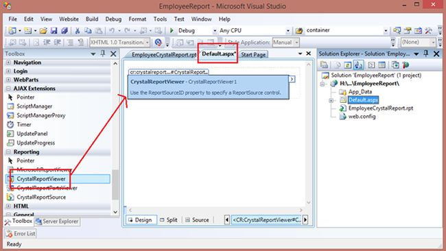 how to create report in php code