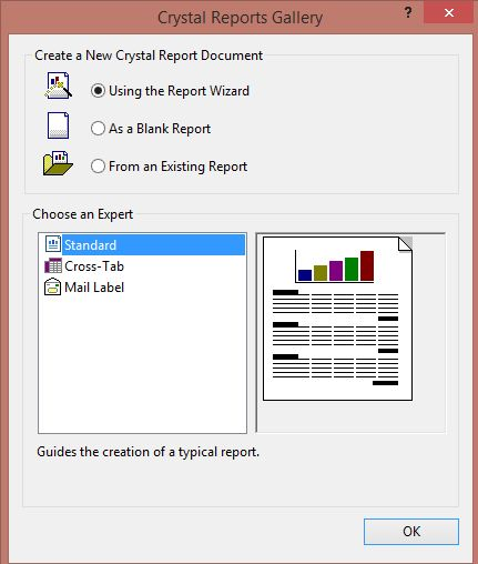 Crystal Report From More Than One Table In ASPNet