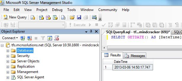 Sql date functions in Sydney
