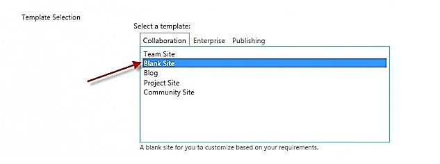 sharepoint requirements template - sharepoint 2013 missing blank site template technet