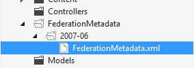The Hidden Federation Metadata folder