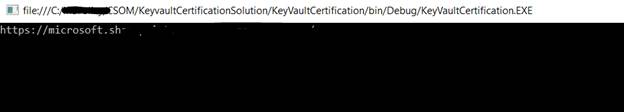 Azure Key Vaults