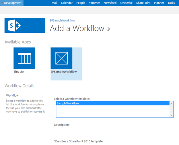 Add sharepoint app workflow to host web list technet for Sharepoint workflow templates download