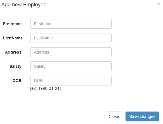 add the new employee