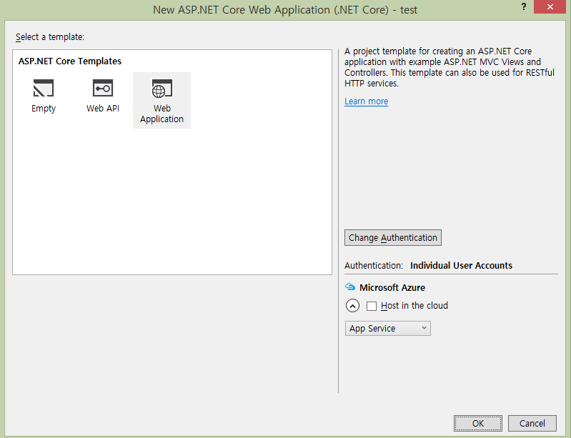 how to create web application in asp net using c