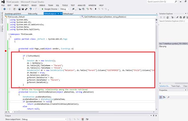 C# gridview select row