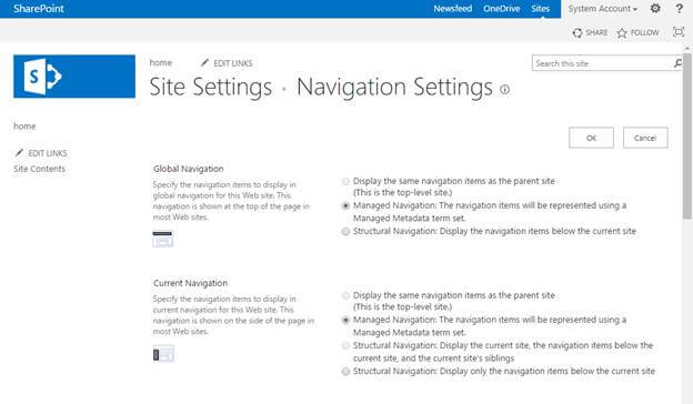 how to create navigation menu in html