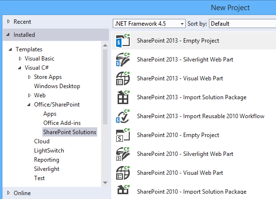 sharepoint task list template - create sharepoint 2016 solutions in visual studio 2015