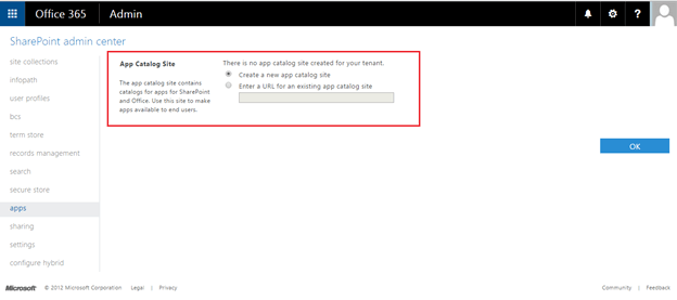 Create App Catalog In Sharepoint Online Technet Articles