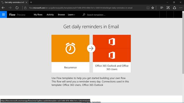 Get daily remainders in Email