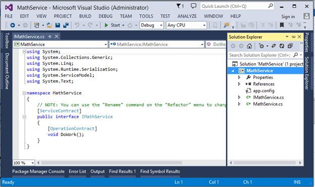 c how to create console applications
