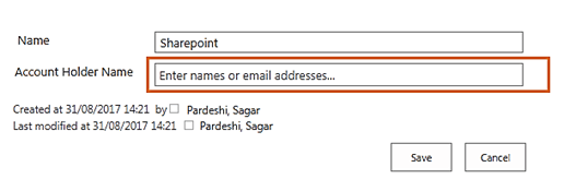 SharePoint People Picker