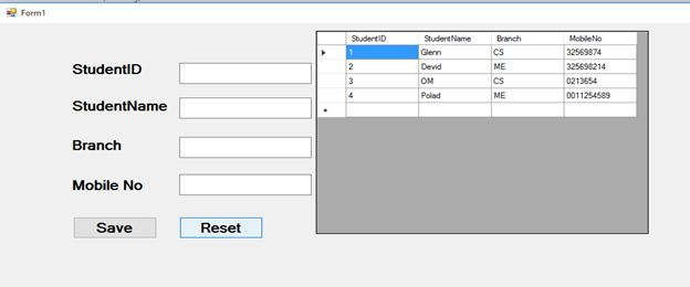 how to add new row in datagridview c windows application