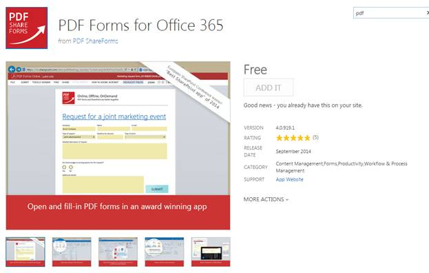 Fill In PDF Forms Directly On SharePoint And Office Part - How can i fill in a pdf form for free