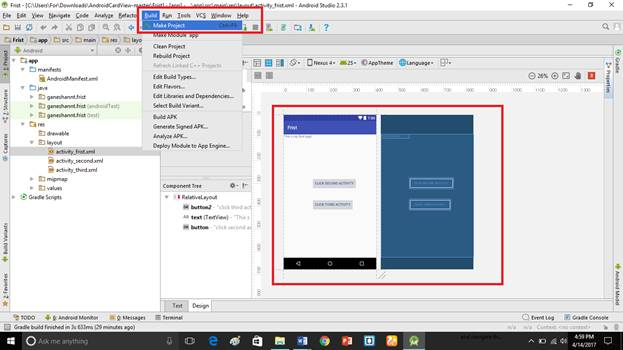 how to add multiple images in android studio