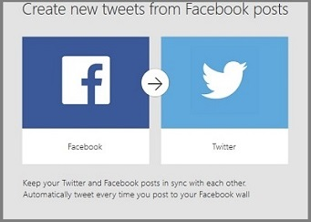 How to connect facebook to twitter with microsoft flow connect facebook and twitter pronofoot35fo Choice Image