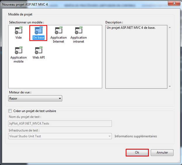 how to put dialog box in mvc model