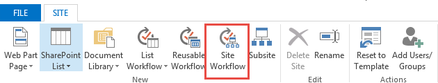Site Workflow