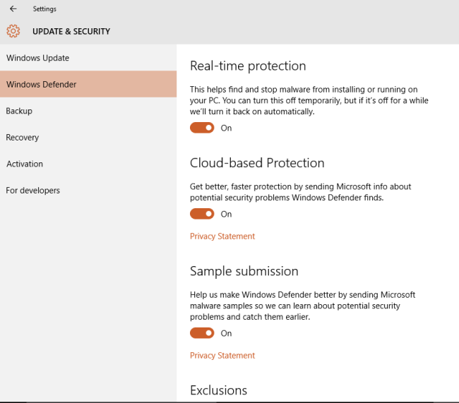 how to change date format in windows 10 defender