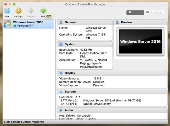 how to create a virtual server in windows 10