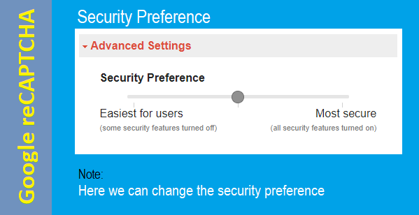 Security Preference