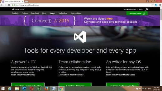 how to create a website using asp net with c#