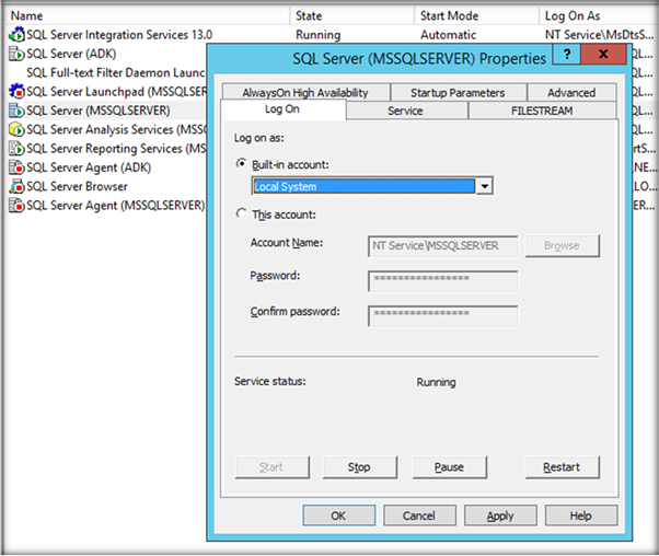 how to start sql server configuration manager