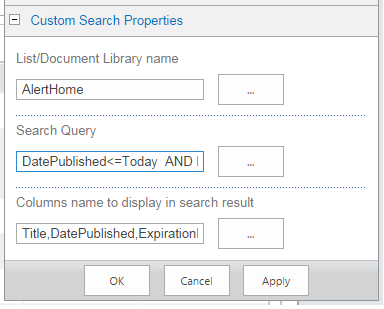 Search content within list library using customsearch for Document library name sharepoint