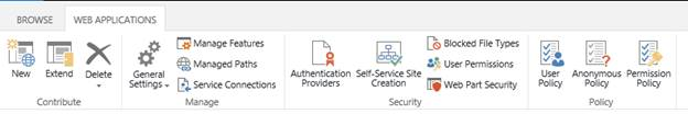 SharePoint 2016 Central Administration