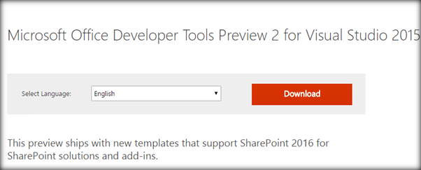 Developer Tools Preview