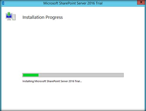 sharepoint 2016 installation and configuration pdf