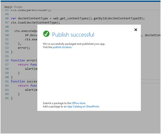 Sharepoint hosted app in office 365 to create a document for Office 365 design document