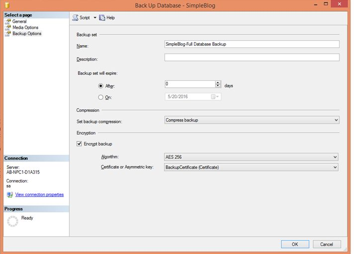 how to add a database to sql server 2014