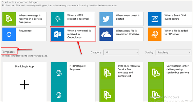 how to create azure remote app