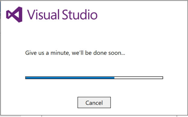 how to set args in visual studio