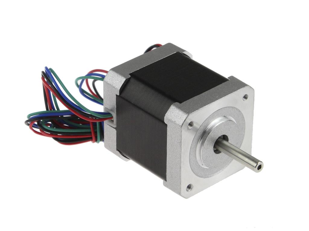 Connecting and controlling the stepper motor in motor shield for Controlling a stepper motor