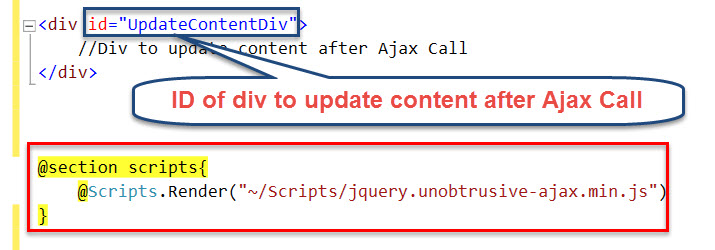 JQuery Unobtrusive Ajax for Partial Updates in ASP.NET MVC by Nishan Aryal